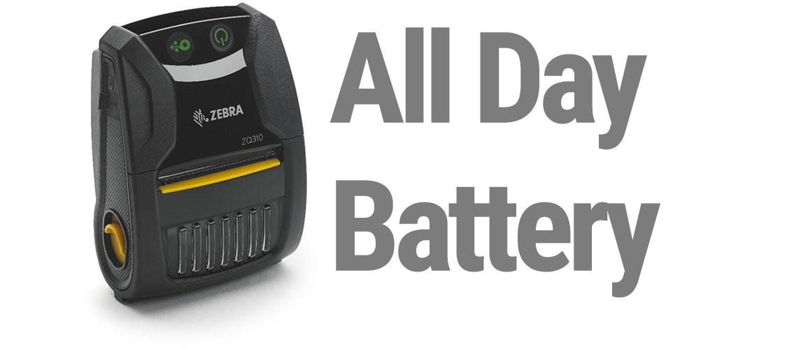 zq310 showcase battery